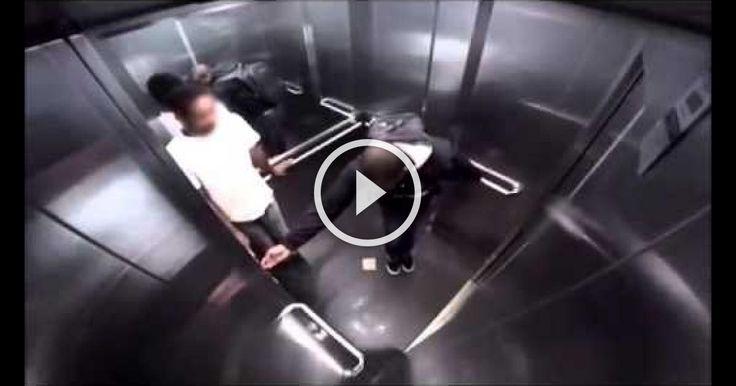 Explosive Diarrhea In Elevator Prank in Brazil