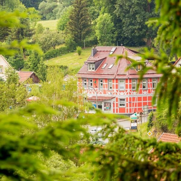 Eishexe Eishexe Is Located In The Centre Of Tanne Near Braunlage The Wurmberg The Ski Lift And The Ice Stadium There Is An Ice Cream Cafe Hotel Lodges Mansions