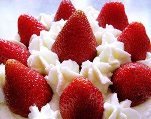 Fresas con nata: Fresa Con, Beneficio Fruta, Amb Nata, Strawberries Cream, La Fresa, Con Nata, Benefits
