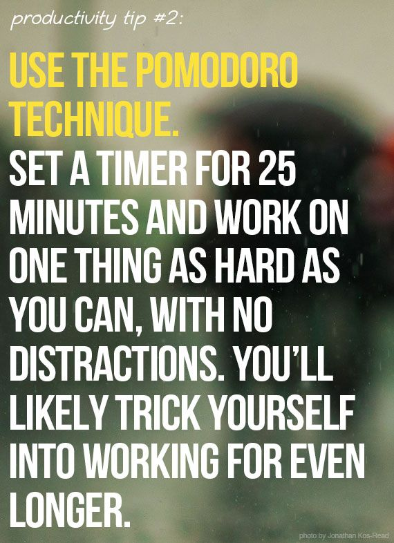 30 awesome tips on how to be more productive and get more done this semester