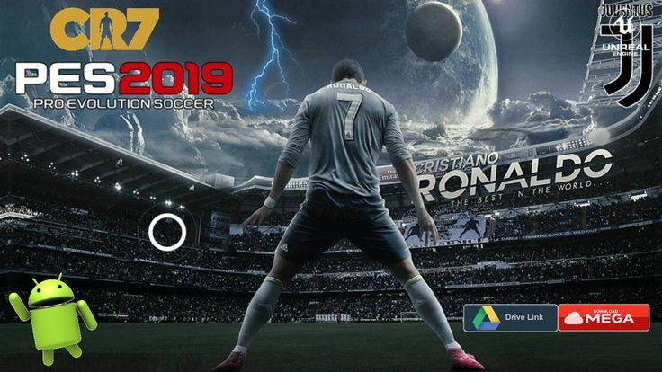 Pes 2019 Android Patch Cr7 Juventus Obb Download Apk Mod Game