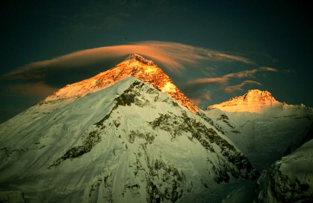 Mount Everest. One place I'd love to see