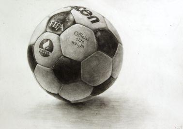 축구공 소묘