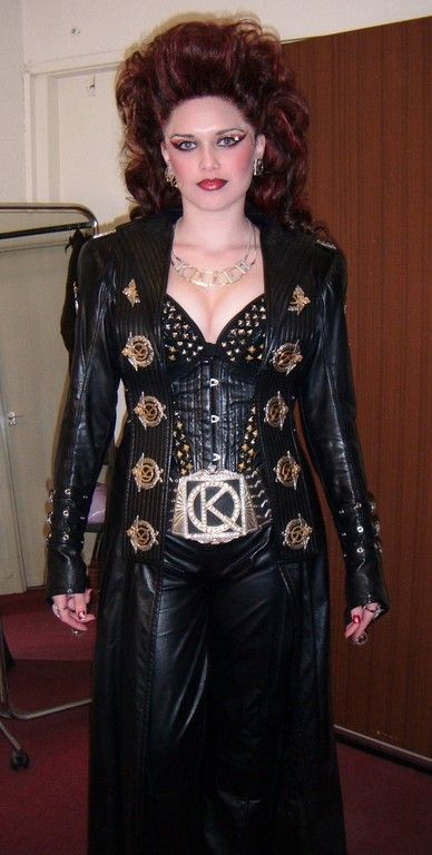 """""""Killer Queen"""" costume from the musical """"We Will Rock You"""""""