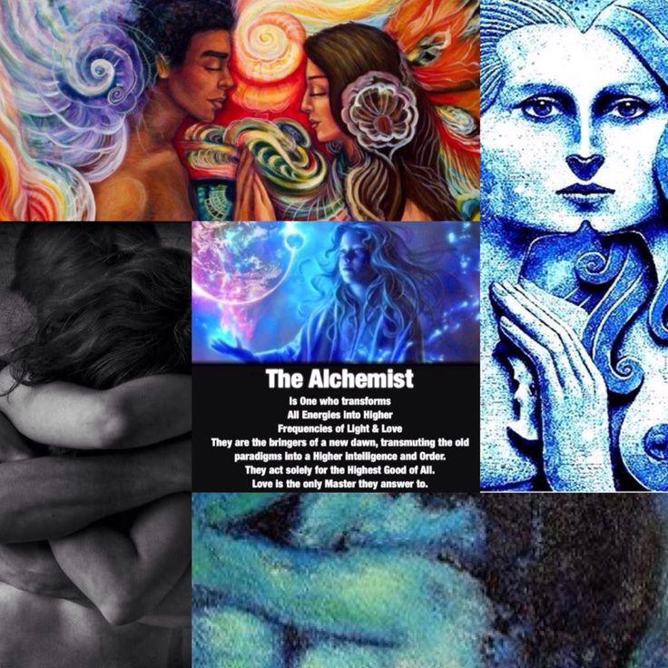 El alquimista es aquel que transforma todas las energías en frecuencias más altas de luz y amor. Son los portadores de un nuevo amanecer, transmutando viejos paradigmas en un mayor nivel de intelig…