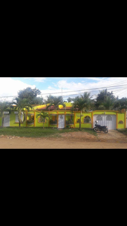 La casa del abuelo de mi esposo. ¡Que bonita! Catacamas, Olancho, Honduras 🇭🇳