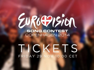 Tickets for Eurovision 2014 on sale this Friday.