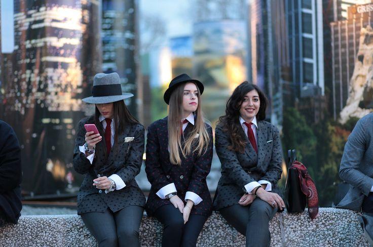 Women at Pitti