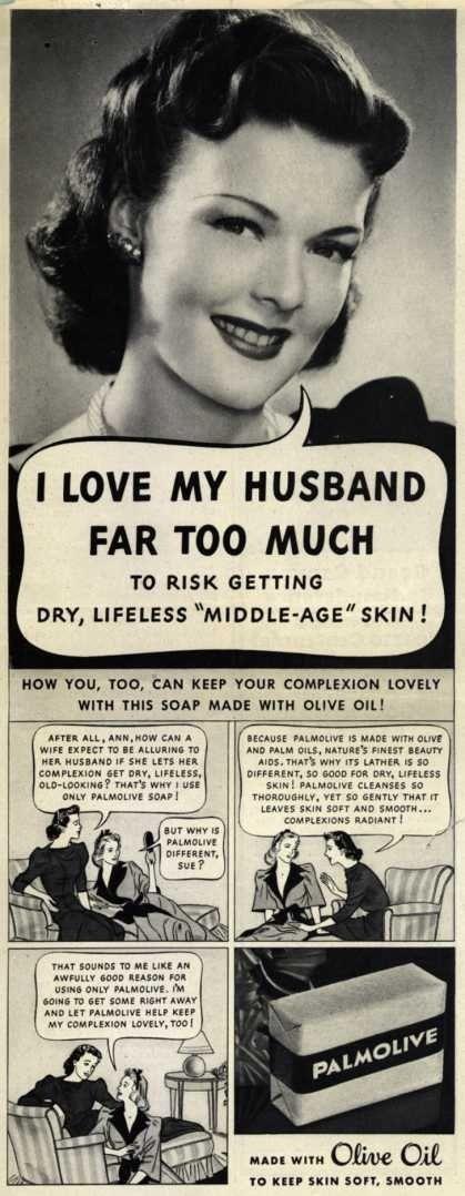 Vintage Advertising - Palmolive