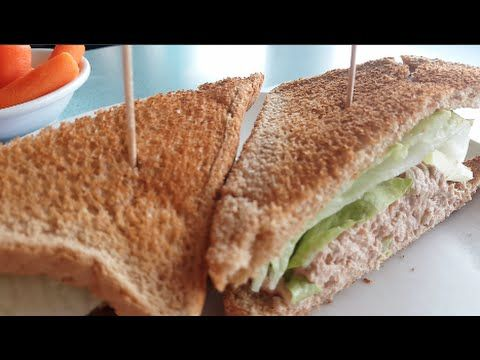 Olympic Diner Tunafish Sandwich - YouTube