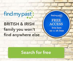 FREE Access to British and Irish Records on Findmypast 22-26 June - Genealogy & History News