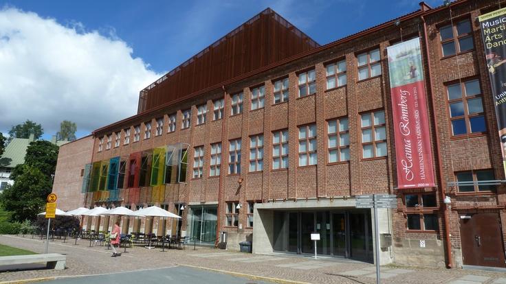 "IFLAcamp venue ""Verkatehdas Arts & Congress Center"" in Hämeenlinna Finland."