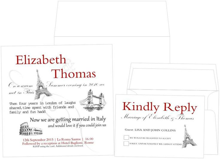 Your story.... you tell us what it is and we will create it into a fab wedding invitation