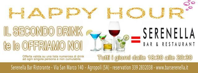 Bar serenella Happy Hour