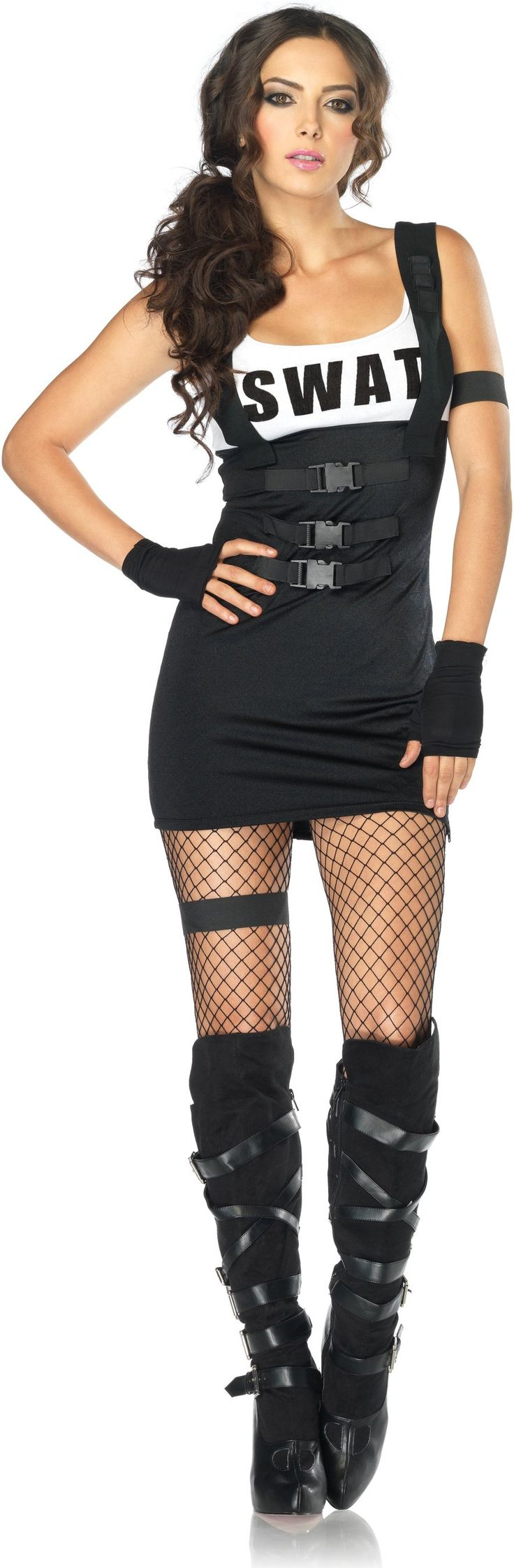 Sultry SWAT Officer Adult Costume from BuyCostumes.com