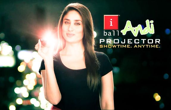 iBall Andi 4a Projector smartphone with 4-inch Android 4.1 launched for Rs. 18,999