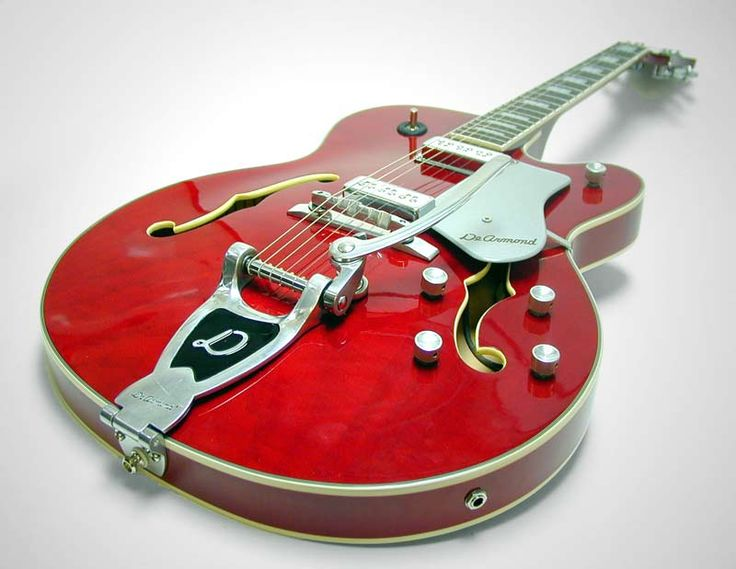 ruby red & electric #guitar