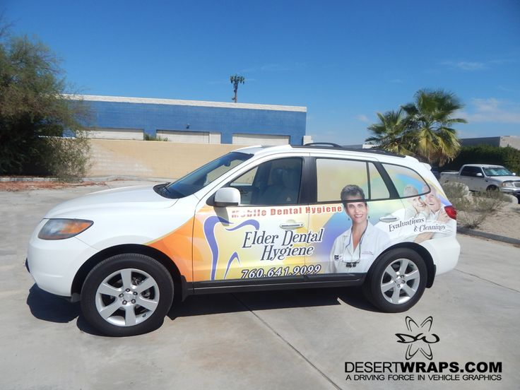 DesertWraps.com installed a high resolution and high quality vinyl wrap for Mobile Dental Hygiene. DesertWraps.com is located in Palm Desert, CA a phone call away at 760-935-3600  #CarWrap #VehicleWrap #Branding #BusinessBranding #PalmDesert #PalmSprings #CoachellaValley