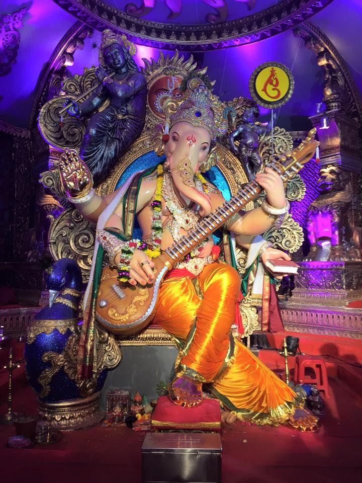 Shri Ganesh! Chinchpoklicha Chintamani Ganesh 2015