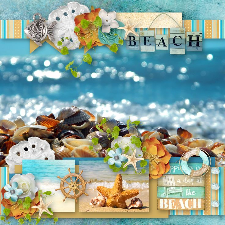 "template ""Create easy  and free 30"" by Tinci Designs, https://www.facebook.com/photo.php?fbid=1614578871900395&set=gm.466778277013202&type=3&theater, kit ""Seaside Treasures"" by BooLand Designs, https://www.digitalscrapbookingstudio.com/digital-art/bundled-deals/seaside-treasures-bundle/, photo Pixabay"