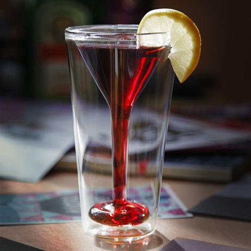 ★ NEW : Verre à Cocktail Double Paroi ►►► http://ow.ly/MdhXR  ✔ en stock et livré en 72h Soirée cocktail classe et insolite !