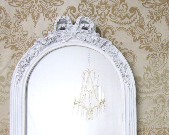 DECORATIVE VINTAGE MIRRORS For Sale Rose Motif by RevivedVintage, $98.00