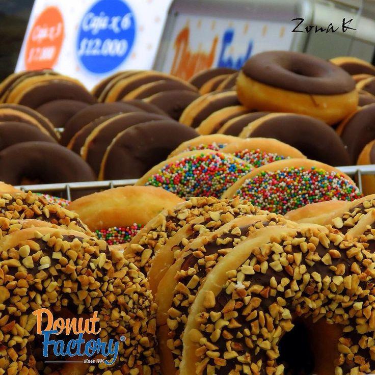 #zonakbogota #zonak #Donutfactory  Las mejores de Bogota