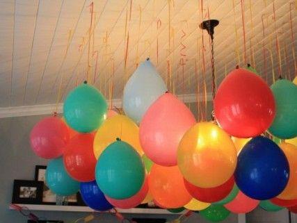 Decoración de techos para fiestas, ¡lúcete con las últimas tendencias! GLOBOS