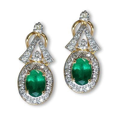 Check out yet another dazzling color gem stone earrings - Parris Jewelers, Hattiesburg, MS #finejewelry