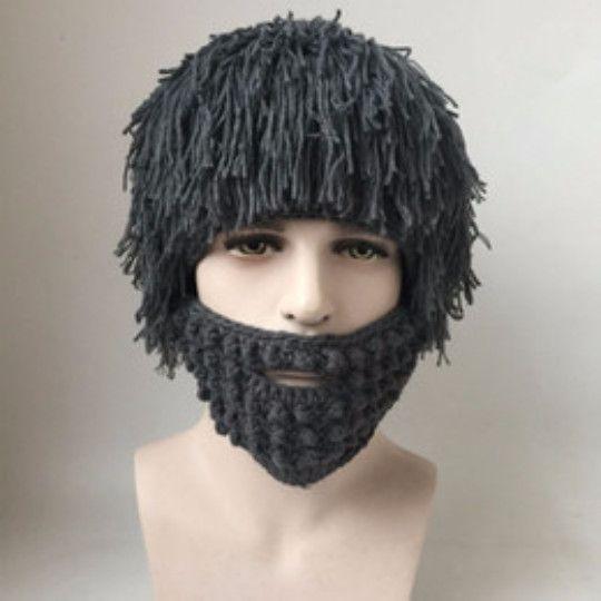 Funny Wig Beard Hats Hobo Mad Scientist Rasta