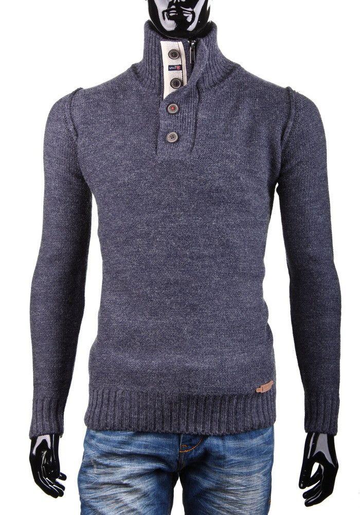 Sweter 610-57 SCOTFREE   Odzież męska \ Swetry   Ipanema klapki sandały japonki plaża Rider Grendha Gisele Bundchen obuwie męskie damskie dzieciece