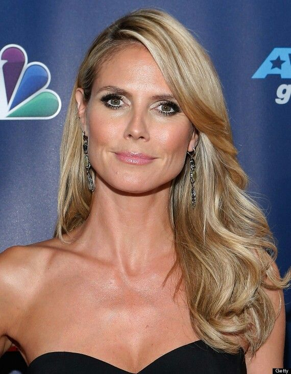 Heidi Klum can respresent darker Soft Summer colour type. Her coloring is muted and neutral, lightly more cool. She is not so light like Soft Summer Light but not so dark like Deep Summer. Middle value, middle band of tones suit her the best.