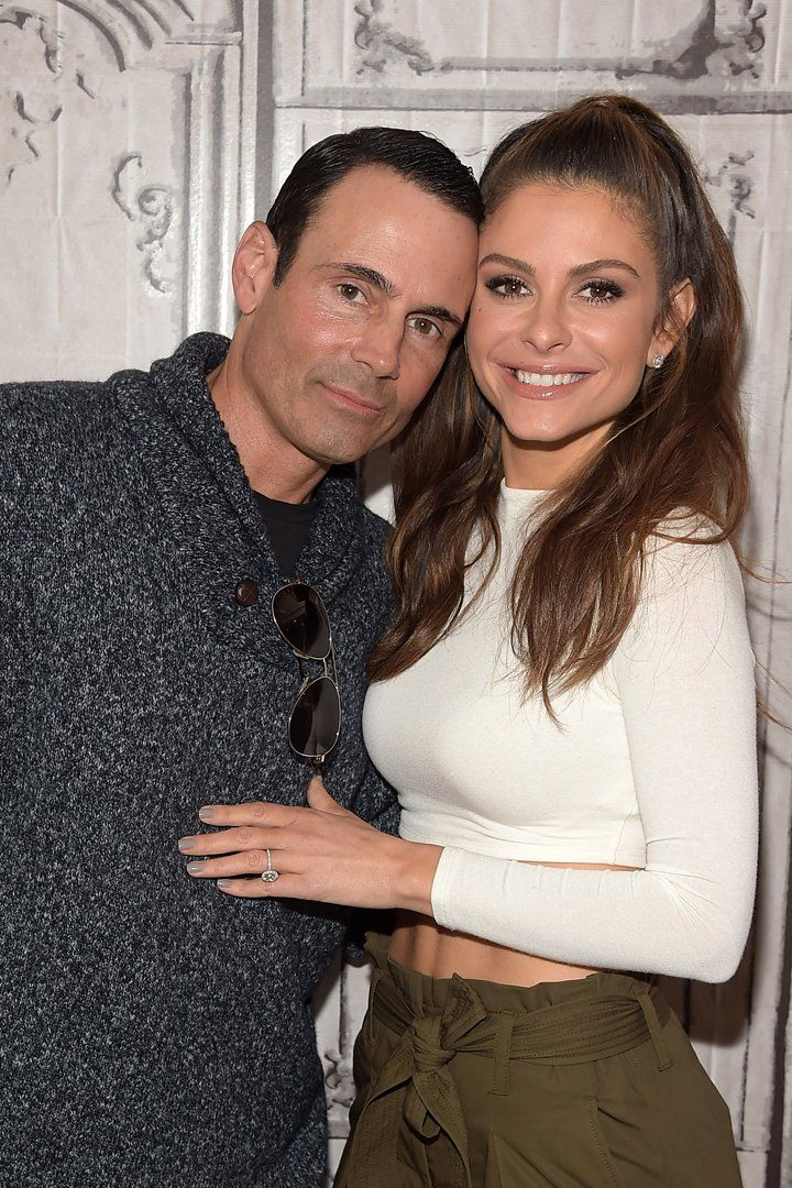 You Can't Look Away From Maria Menounos's Sparkling Engagement Ring  Maria Menounos's Sparkling Engagement Ring Is So Big, It's Hypnotizing
