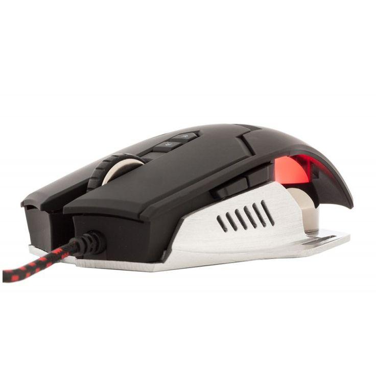 Az iTek TAURUS G78 programozható Gamer egér. -Az 1000 Hz frekvencia, és az 1 ms válaszidővel 8 –szor gyorsabb, mint más gamer egerek. A fémes szerkezete van.