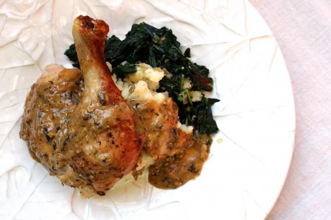 Jaime Oliver's Chicken in Buttermilk--sub with filmjolk to make it GAPS friendly