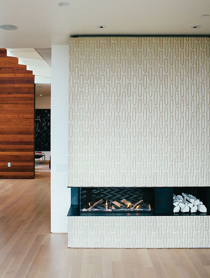 Modern Homes In Mexico Fireplace Tiles Fireplaces And