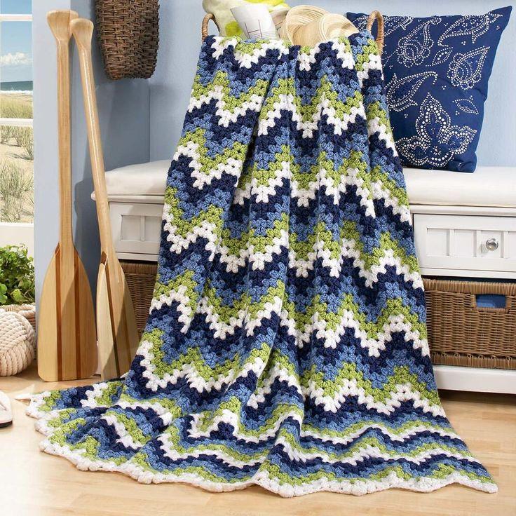 Herrschners® Calypso Crochet Afghan Kit