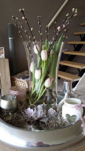 Mooie roze tulpen !!!