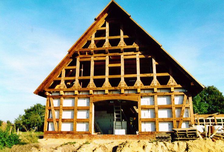 69 besten neue und alte wohnarten bilder auf pinterest for Fachwerkhaus konstruktion