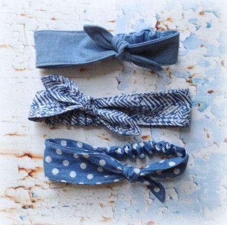 Handmade Knotted Baby Headbands | Etsy