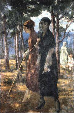 Ibrahim Calli  (1882-1960): Turkish painter. ~Repinned via Sergul Olgac