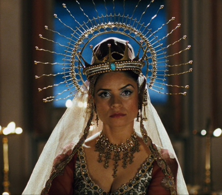 Queen Vashti from One Night with the King. I love her head ...