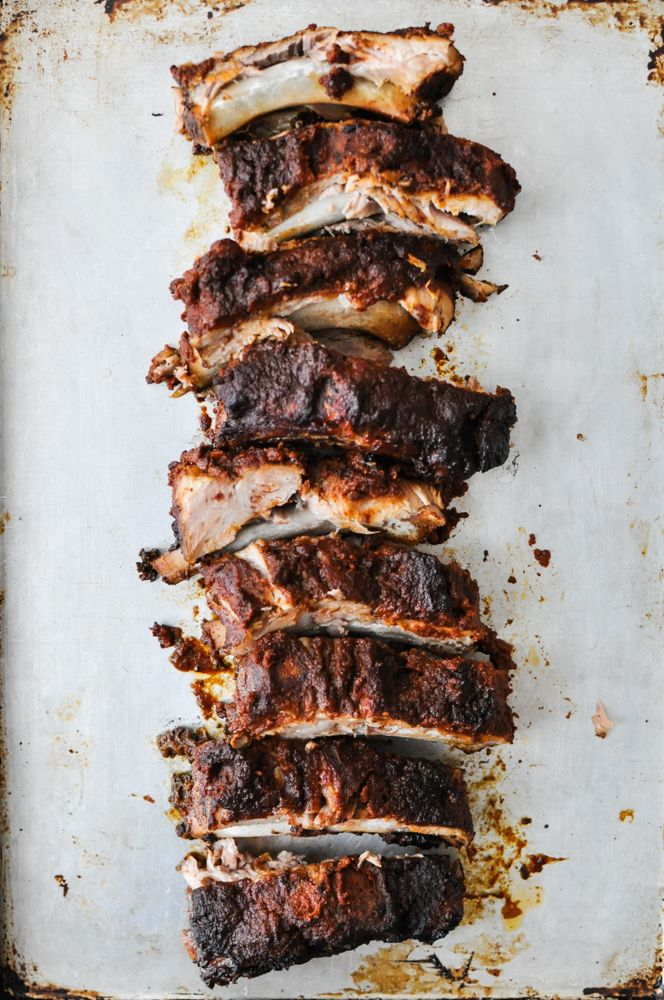 Paleo BBQ Slow-Cooker Baby Back Ribs | Fed and Fit