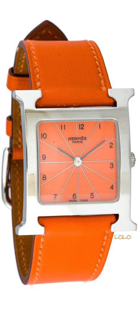 Hermes Uhr in Orange (Farbpassnummer 33) Kerstin Tomancok / Farb-, Typ-, Stil & Imageberatung
