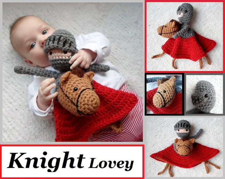 Knight Lovey Crochet Amigurumi Pattern PDF - $3.99