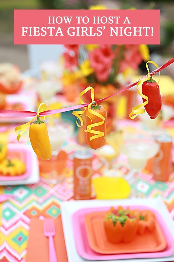 party plan host a girlsu fiesta night