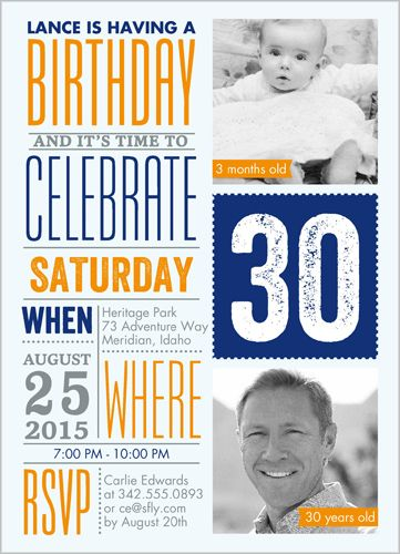 52 best adult birthday invitations images on pinterest shutterfly info fun stationery card by petite lemon invite all the guests with this stylish birthday invitation filmwisefo Choice Image