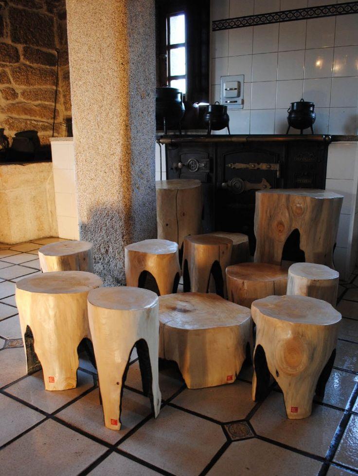 Tuya 23 - Enrique Gil Coleccion de Piezas A realizadas de manera artesanal en madera de Tuya