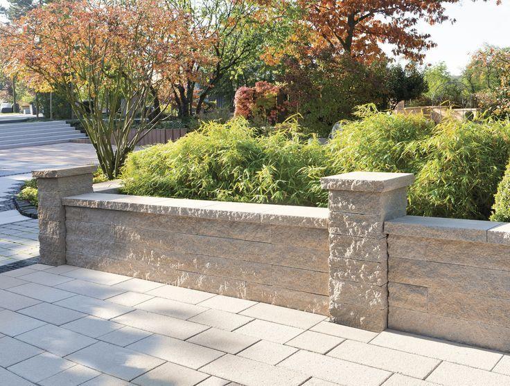 63 besten einfriedung gartenmauer bilder auf pinterest zaun design landschaftsarchitektur und. Black Bedroom Furniture Sets. Home Design Ideas