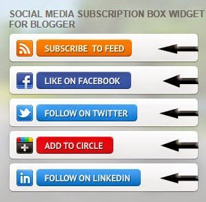 Tech Time: social media subscription box widget for blogger